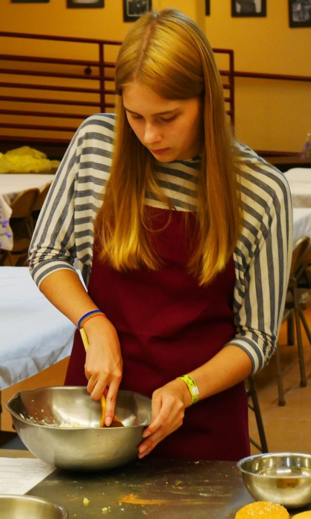 Teens love to cook with Chef Joel.