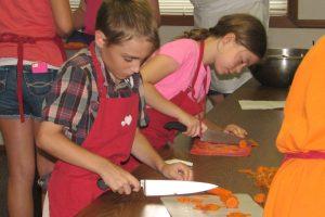 Knife Skills class for kids