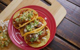Delicious Vegetarian tacos